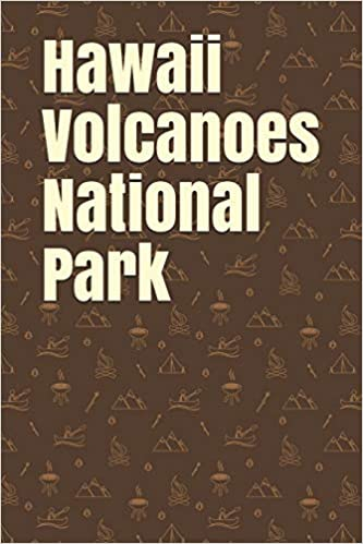 Hawaii Volcanoes National Park: Blank Lined Journal for