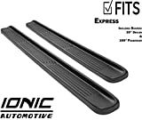 Ionic Factory Style (fits) 1996-2016 Chevy Express Van 39' Driver & 100' Passenger Boards Only Running Boards Side Steps (3810391010)