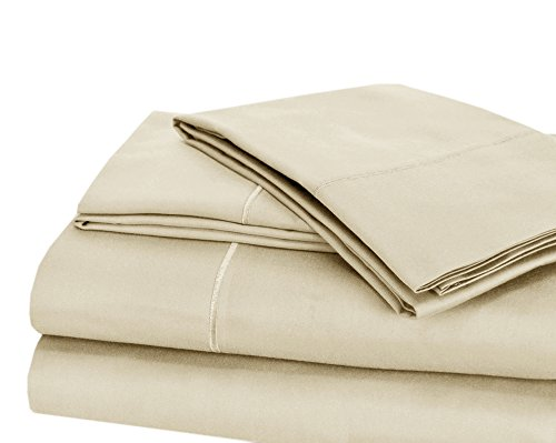 CHATEAU HOME COLLECTION Luxury 100% Pima Cotton 500 Thread Count Ultra Soft Solid Sheet Set, Lowest Prices - Mega Sale, Queen - - Sheet 500 Set