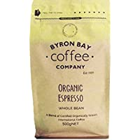 Byron Bay Coffee Company Certified Organic Espresso Whole Bean, 500g