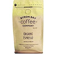 Byron Bay Coffee Company Certified Organic Espresso Whole Bean, 500g