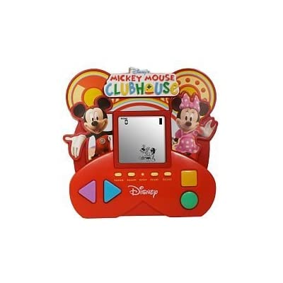 Disney Mickey Mouse Clubhouse 5 in 1 Handheld Game: Toys & Games