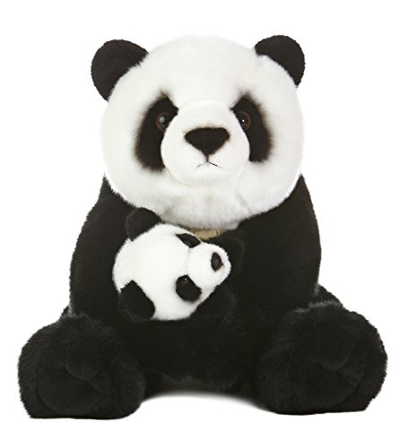 Aurora World Miyoni Panda Bear with Cub Plush, 15