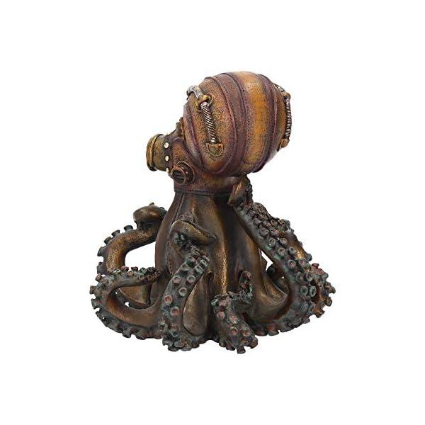 Nemesis Now Octo-Steam Figurine 19cm Bronze