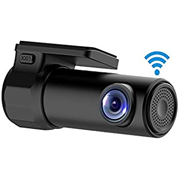 tekbow wifi car dvr dash camera hd 1080p 170 degree wide angle 360 rotation mini. Black Bedroom Furniture Sets. Home Design Ideas