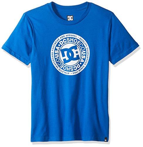 DC Apparel - Kids Boys' Big Circle Star Short Sleeve 2 Youth, Nautical Blue 14/L