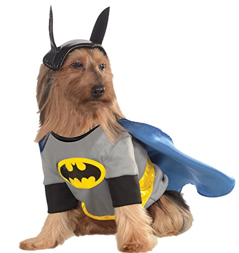 UHC Batman Dc Comics Superhero Fancy Dress Puppy Halloween Pet Dog Costume, XL ()