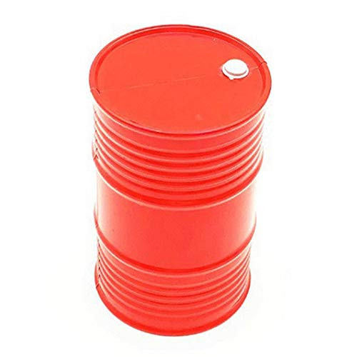 Creative Simulation Plastic Oil Drum Model Part for 1/10 Scale RC Crawler Car Outdoor Eductional Toy for Children