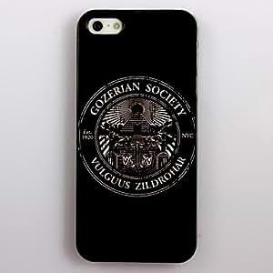 MOFY-Gormandizer Sociedad Design aluminio duro caso para iPhone 5/5S