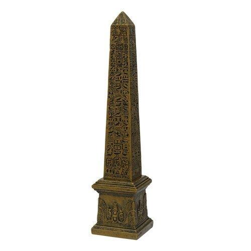 - PTC 10 Inch Obelisk Structure Mythological Egyptian Statue Figurine