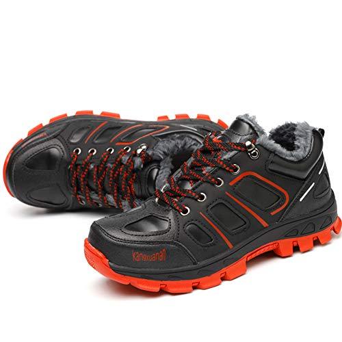 Trabajo Red Calzado Comodos Para Impermeables Black 903 Seguridad Botas Invierno Coou Zapatos De S3 Hombre Obrero fxwgRqq17