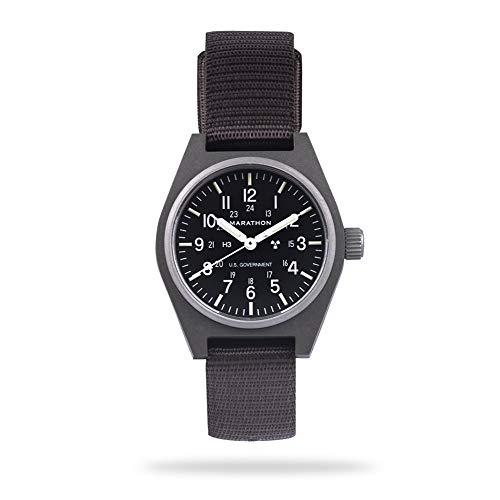 Marathon Watch WW194003SG General Purpose Mechanical (GPM) Military Field Watch with Tritium and...