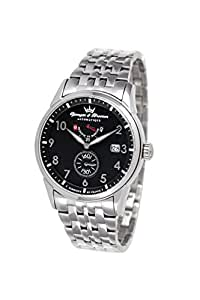 Yonger Bresson  - Reloj de cuarzo , correa de acero inoxidable
