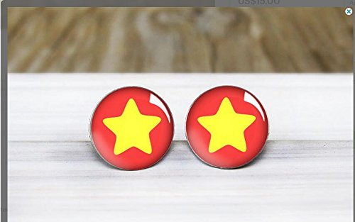 Steven Universe Earrings Hypoallergenic Sensitive product image