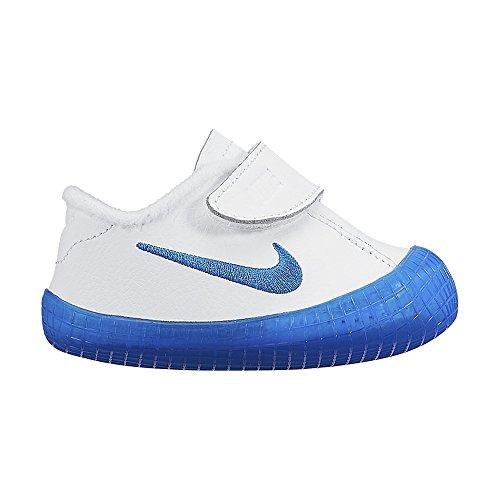 Nike Waffle 1 (CBV) Zapatillas, Bebé-niños Blanco / Azul (White / Photo Blue)