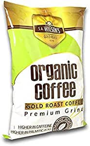 S.A. Wilson's Gold Roast Organic Enema Coffee for the BEST Coffee Enemas! 500g.