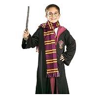 Accesorio del disfraz de Halloween de la bufanda de Harry Potter