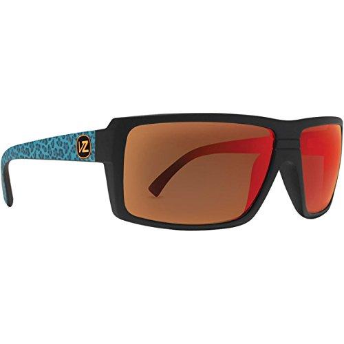 VonZipper Snark Sunglasses PARTY ANIMALS Black Blue/Lunar Glo, One Size