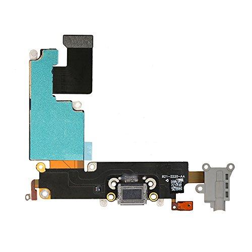 FirefixTM Dock Connector USB Charging Port Flex Cable Ribbon for Apple iPhone6 plus 5.5 (Black)