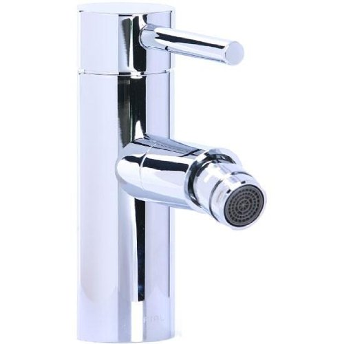 Horizontal Spray Bidet - Cifial 221.122.625 Techno Straight Horizontal Spray Bidet Faucet, Polished Chrome