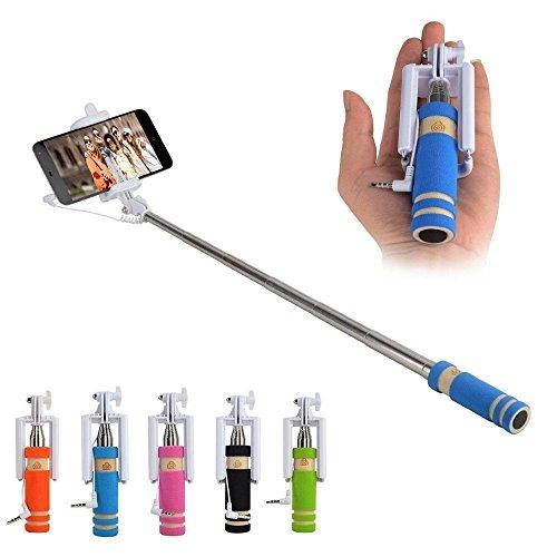 Generic Mini Selfie Sticks With Aux Cable  55 Cm