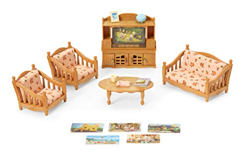 Calico Critters Comfy Living Room Set (Living Room Furniture Sets Red)