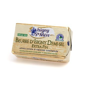 French Salted Butter (French Isigny Butter, salted - 8.8 oz)