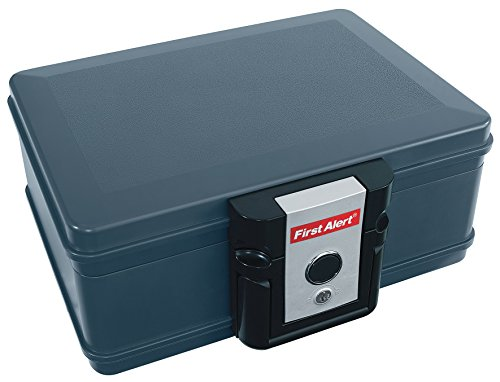 First Alert 2011F Fire Chest, 0.17 Cubic Feet, Foot, Grey