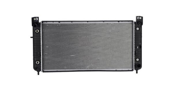 "Radiator for 2004 GMC Sierra 2500 HD 6.0L-34/"" BETWEEN TANKS-W//ENGINE OIL COOLER"
