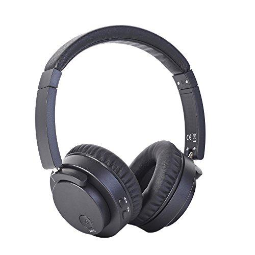 Wireless Bluetooth Over-Ear Headphone Headset - Rerii Hi-Fi Sounding, Foldable Bluetooth 4.0 Headphone, Easy Pairing, Long Battery Life Wireless Over-Ear Headset