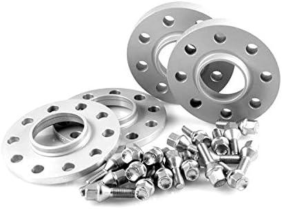 Radschrauben H/&R TuningHeads 0443336.DK.2075725-3075725.765-E-65 Spurverbreiterung VA 20 mm//HA 30 mm