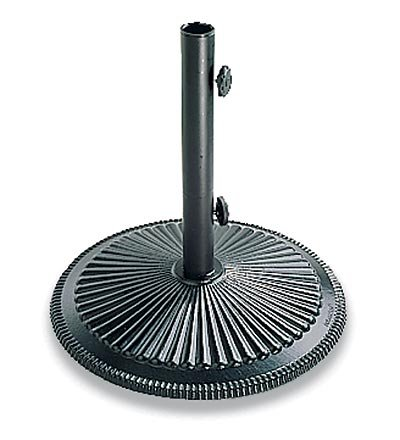 Plow Hearth 50 Lb. Cast Iron Umbrella Base