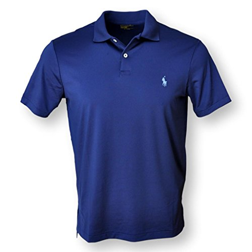 - POLO RALPH LAUREN MEN'S PERFORMANCE POLO SHIRT, NAVY, M