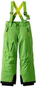 Marmot Boy's Edge Insulated Pant, Bright Grass, Medium