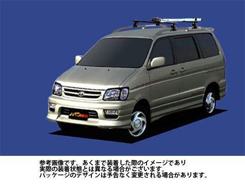 システムキャリア タウンエースノア 型式 CR40G CR50G SR40G SR50G AF0 サイクル フォークマウント 1台分 タフレック TUFREQ B06XZTTVHS
