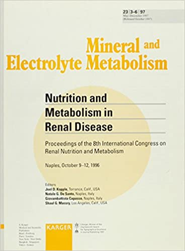Nutrition and Metabolism in Renal Disease: 8th International