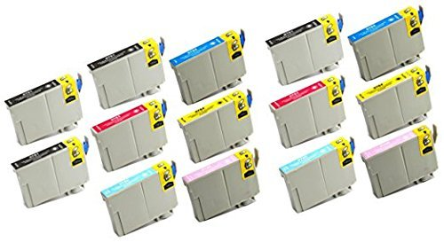 s T078 78 Ink Cartridge Replacement for use in Artisan 50 Stylus Photo R260 R280 R380 RX580 RX595 RX680 Printers ()