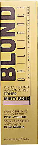 Blond Brilliance Misty Rose Perfect Blond Ammonia Free Toner Misty - Rose Int