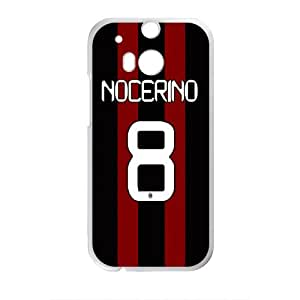 Nocerino 8 New Gattuso Design Hard Case Cover Protector For HTC M8 by mcsharks