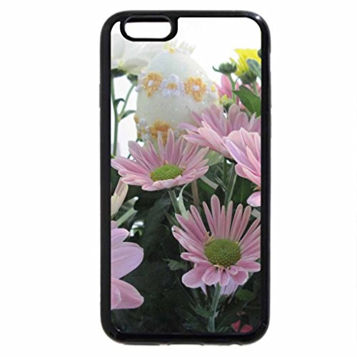 iPhone 6S / iPhone 6 Case (Black) Happy Easter from the garden 04