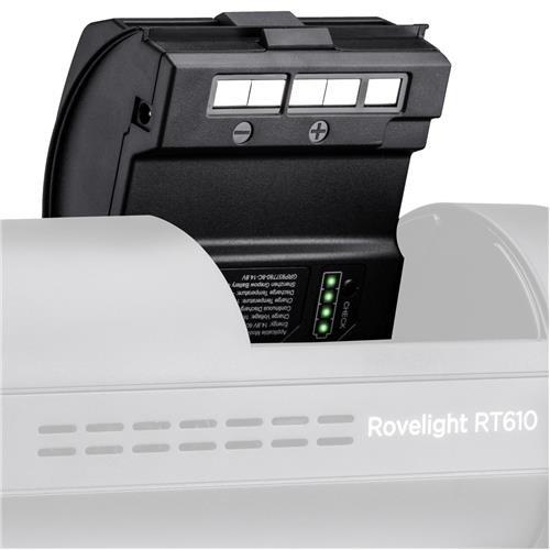 ORLIT Battery Power Pack Unit for The RoveLight RT 610 / RT 601 Monolight
