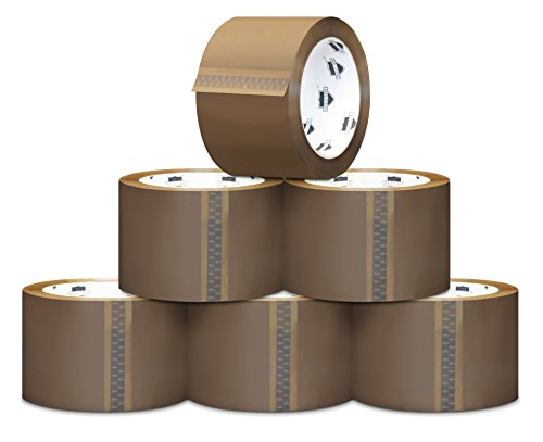 Tan/Brown Acrylic Packing Tape - 3