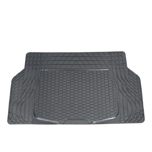 FH GROUP FH-V16403 Trimmable Vinyl Trunk Liner / Cargo Mat Gray ()