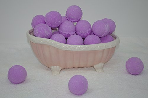 Bath Bomb Fizzy 14 Pack of Fizzies 3.oz Lavender