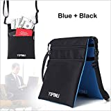 Neck Pouch Holder- Waterproof Passport Wallet with Double Sided, Function Travel Pouch for Men and Women