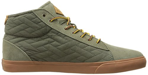 Reef Mens Cresta Mid Tx Fashion Sneaker Oliva