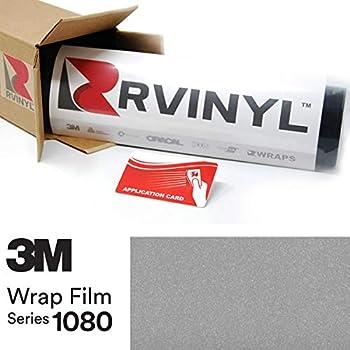 3M 1080 G120 Gloss White Aluminum 5ft x 1ft W/Application Card Vinyl Vehicle Car Wrap Film Sheet Roll