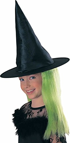Rubies Child's Witch Hat with Green (Rubies Witch Hat)