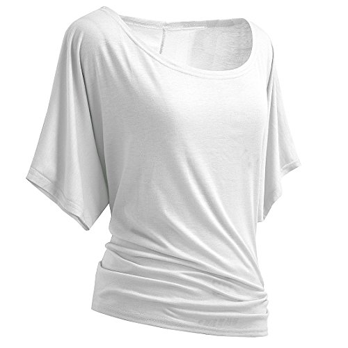 HOMEYEE Womens Casual Sleeve T Shirts