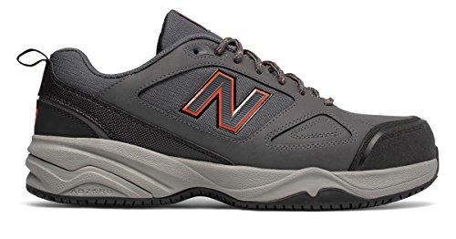 名前でみなす回る(ニューバランス) New Balance 靴?シューズ メンズワーク Steel Toe 627v2 Grey with Orange グレー オレンジ US 14 (32cm)